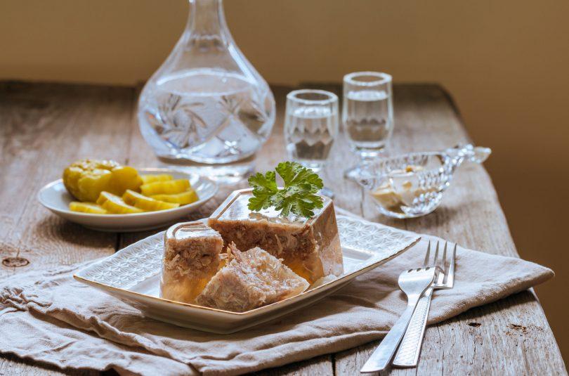 Cotoroage cu carne de porc (Piftii)