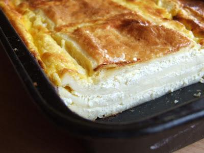 Plăcintă cu brânză sărată ca-n Banat